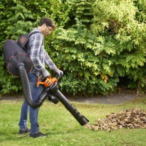 Black & Decker - Løvsuger/ blæser 3000W