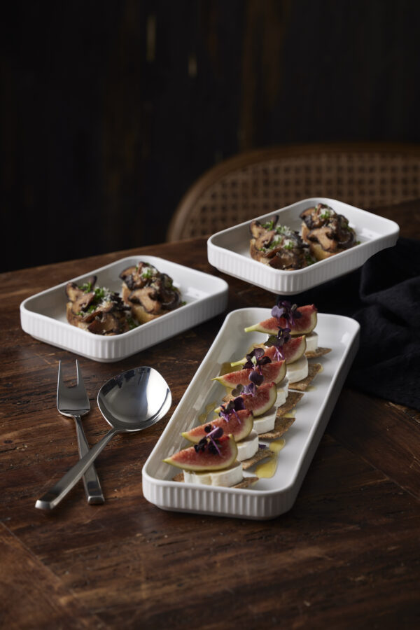 Pillivuyt tapassæt & Gense serveringsbestik