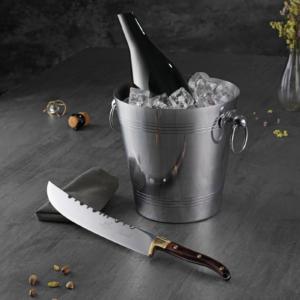 Champagne-/vinkøler med sabel