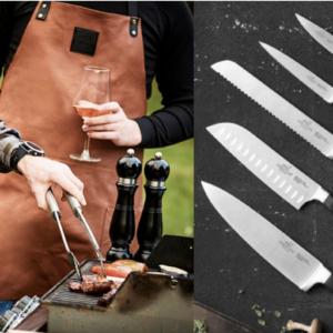 Bon Gout forklæde Lion Sabatier knive