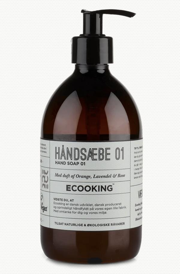 Georg Jensen Damask Køkkenpakke og Ecooking håndsæbe
