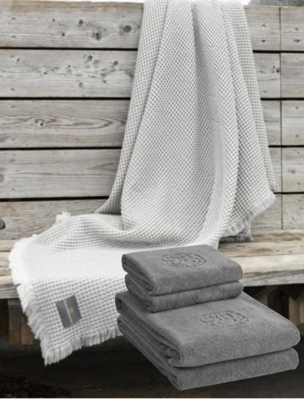 Georg Jensen Damask plaid håndklæder